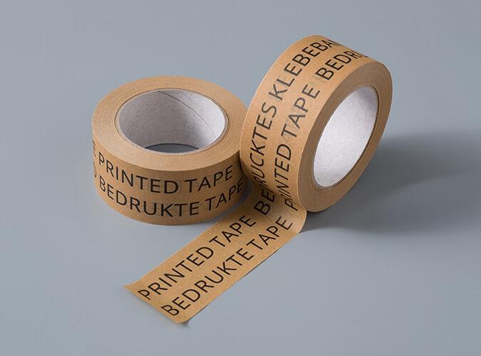 bedrukte papiertape